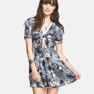 Free People Tie Front Dress Size 8